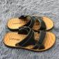 2019夏季新款男士休闲透气沙滩鞋简约方便两穿橡胶厚底防滑凉拖鞋