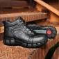 冬季鞋子男大码棉鞋 户外登山鞋子中老年爸爸鞋一件代发
