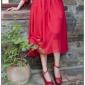 2016春季新款复古Vintage手工鞋 复古蝴蝶小皮鞋 粗跟真皮女红鞋